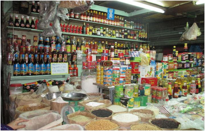 Cửa hàng bày bán sản phẩm