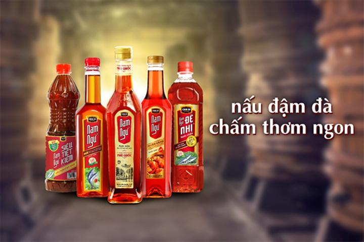 Bộ sản phẩm nước mắm Nam Ngư